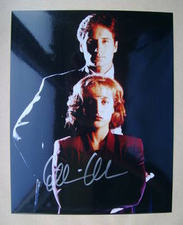 Gillian Anderson autograph (hand-signed photograph)