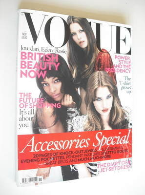 <!--2008-11-->British Vogue magazine - November 2008