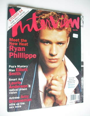 <!--1998-08-->Interview magazine - August 1998 - Ryan Phillippe cover