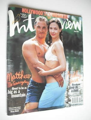 <!--1996-08-->Interview magazine - August 1996 - Matthew McConaughey and As