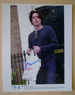 Hugh Grant autograph
