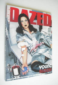Dazed & Confused magazine (August 1999 - Shalom Harlow cover)