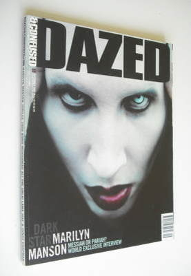<!--2000-09-->Dazed & Confused magazine (September 2000 - Marilyn Manson co