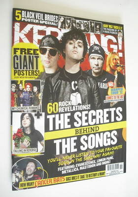 <!--2012-05-12-->Kerrang magazine - The Secrets Behind The Songs cover (12