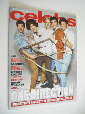 <!--2012-05-27-->Celebs magazine - One Direction cover (27 May 2012)