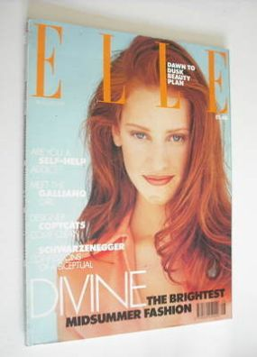 <!--1991-08-->British Elle magazine - August 1991