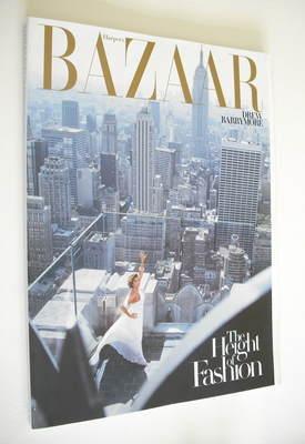 <!--2007-02-->Harper's Bazaar magazine - February 2007 - Drew Barrymore cov