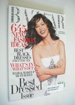 Harper's Bazaar magazine - December 2004 - Catherine Zeta-Jones cover