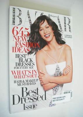 <!--2004-12-->Harper's Bazaar magazine - December 2004 - Catherine Zeta-Jon