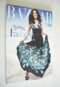 Harper's Bazaar magazine - February 2006 - Salma Hayek cover (Subscriber's Issue)