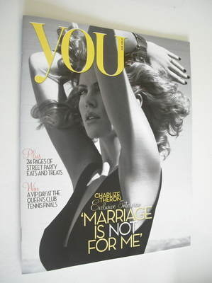 <!--2012-05-27-->You magazine - Charlize Theron cover (27 May 2012)