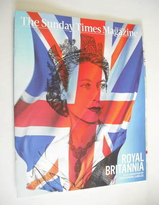 <!--2012-05-27-->The Sunday Times magazine - Queen Elizabeth II cover (27 M