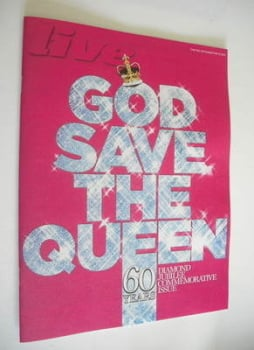 Live magazine - God Save The Queen cover (27 May 2012)