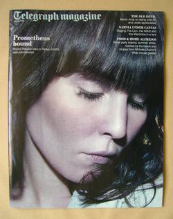 <!--2012-05-26-->Telegraph magazine - Noomi Rapace cover (26 May 2012)