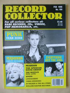 Record Collector - February 1996 - Issue 198