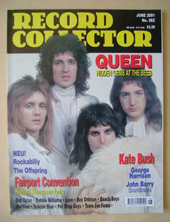 Record Collector - Queen cover (June 2001 - Issue 262)