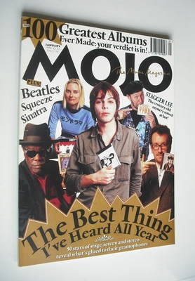 <!--1996-01-->MOJO magazine - The Best Thing I've Heard All Year cover (Jan