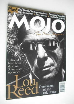 MOJO magazine - Lou Reed cover (March 1996 - Issue 28)