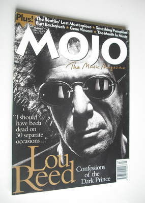 <!--1996-03-->MOJO magazine - Lou Reed cover (March 1996 - Issue 28)