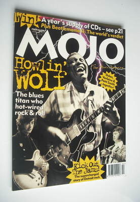 <!--1996-02-->MOJO magazine - Howlin' Wolf cover (February 1996 - Issue 27)