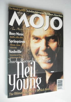 MOJO magazine - Neil Young cover (December 1995 - Issue 25)