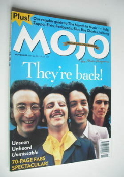 MOJO magazine - The Beatles cover (November 1995 - Issue 24 (3))