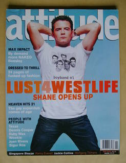 <!--2000-11-->Attitude magazine - Shane Filan cover (November 2000 - Issue