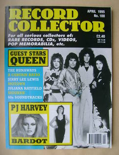 Record Collector - Queen cover (April 1995 - Issue 188)