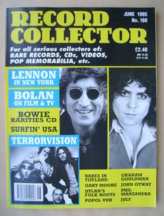 Record Collector - June 1995 - Issue 190