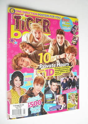 <!--2012-05-->Tiger Beat magazine - May 2012 - One Direction cover