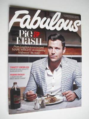 <!--2012-05-20-->Fabulous magazine - Mark Wright cover (20 May 2012)