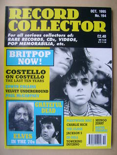 Record Collector - October 1995 - Issue 194