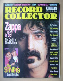 Record Collector - Frank Zappa cover (October 2001 - Issue 266)
