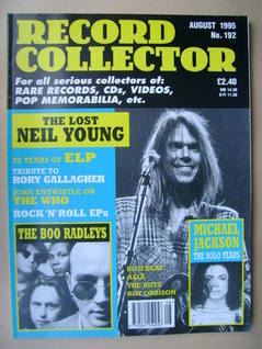Record Collector - August 1995 - Issue 192