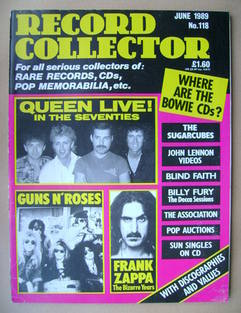 Record Collector - June 1989 - Issue 118