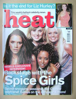 Heat magazine - The Spice Girls cover (28 October - 3 November 2000 - Issue 89)