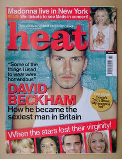 <!--2000-11-18-->Heat magazine - David Beckham cover (18-24 November 2000 -