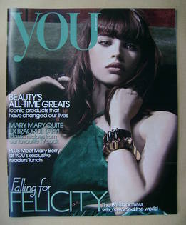<!--2012-01-22-->You magazine - Felicity Jones cover (22 January 2012)