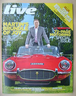 <!--2012-02-26-->Live magazine - Martin Brundle cover (26 February 2012)
