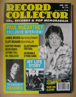 Record Collector - Paul McCartney cover (June 1997 - Issue 214)