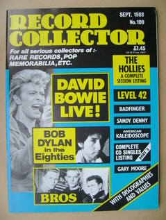 Record Collector - September 1988 - Issue 109