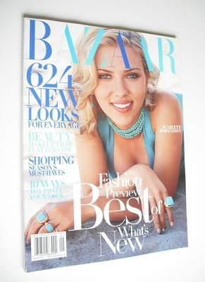 <!--2005-01-->Harper's Bazaar magazine - January 2005 - Scarlett Johansson