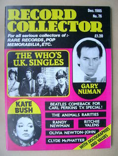 Record Collector - December 1985 - Issue 76