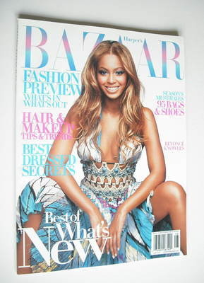 <!--2004-06-->Harper's Bazaar magazine - June 2004 - Beyonce Knowles cover