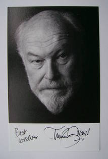 Timothy West autographed photo