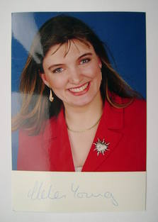 Helen Young autograph (hand-signed photograph)