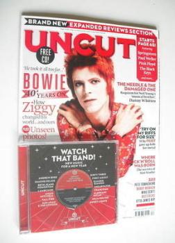 Uncut magazine - David Bowie cover (April 2012)