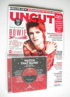 <!--2012-04-->Uncut magazine - David Bowie cover (April 2012)