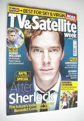 TV&Satellite Week magazine - Benedict Cumberbatch cover (26 May - 1 June 20