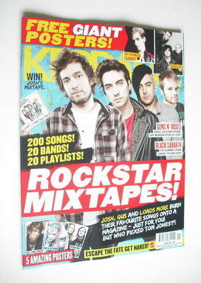<!--2012-05-26-->Kerrang magazine - Rockstar Mixtapes cover (26 May 2012 -